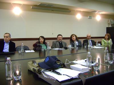 Среща по проект ОТТ - БСУ
