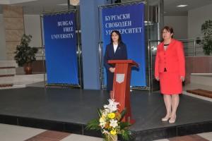 Изложба, посветена на Колю Фичето, в БСУ, Бургаски свободен университет, Бургас