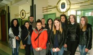 Студенти по право от БСУ посетиха Митница Бургас, Бургаски свободен университет, Бургас