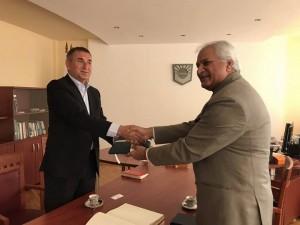Посланикът на Пакистан н.пр. Бабар Хашми посети БСУ, Бургаски свободен университет, Бургас