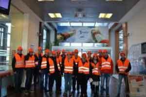 Студенти от БСУ посетиха ТЕЦ Марица-Изток, Бургаски свободен университет, Бургас